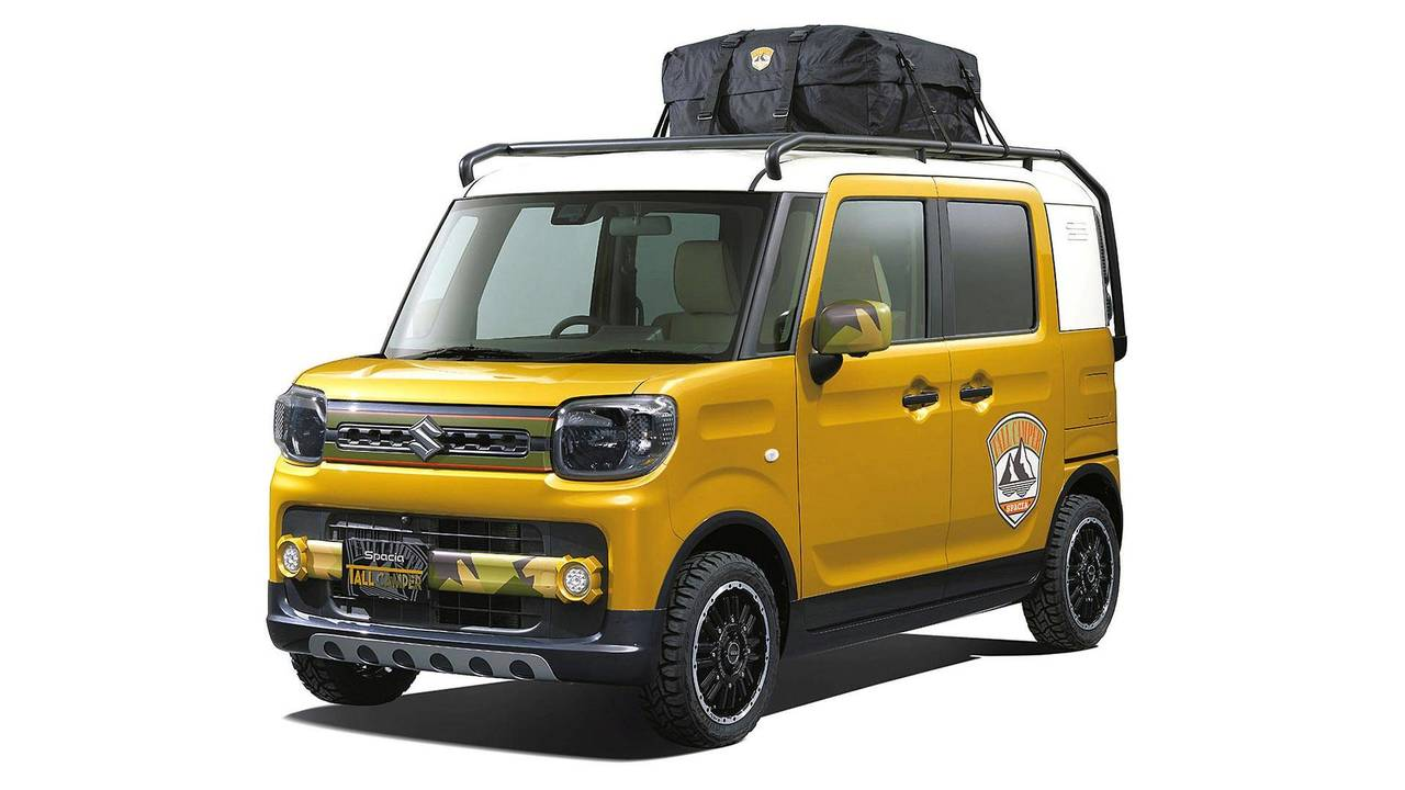 Suzuki Spacia Tall Camper Concept