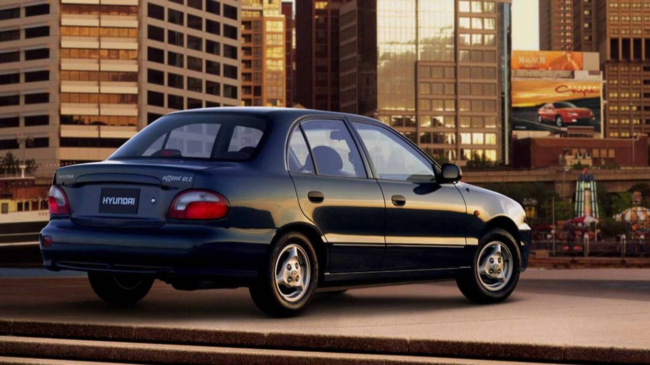 1996-2000 Hyundai Accent Sedan