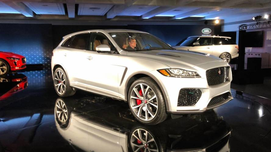 550-HP Jaguar F-Pace Adds Utility To The SVR Range