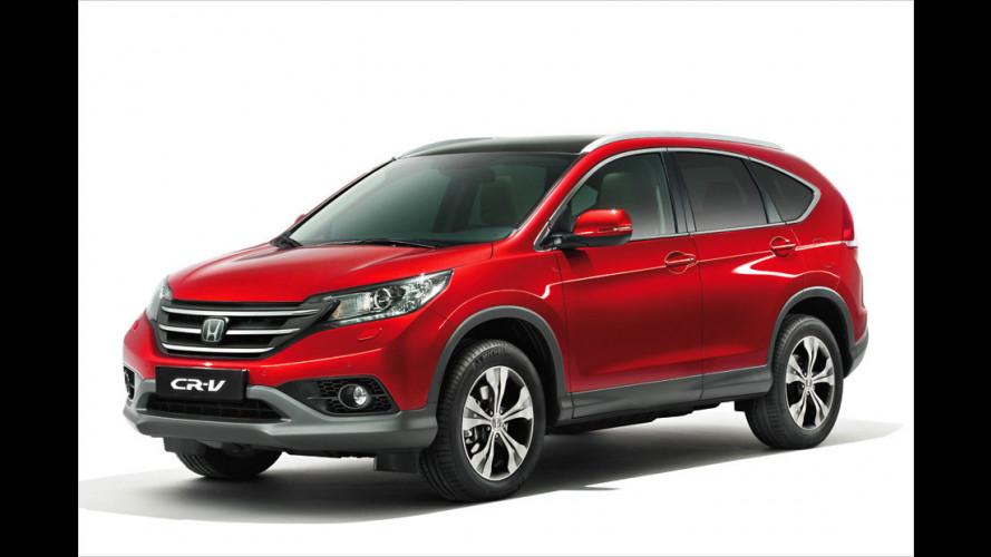 Neuer Honda CR-V steht am Start