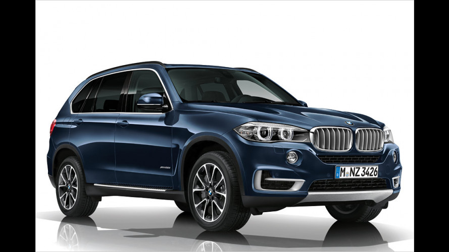 BMW X5 Concept Security Plus: Der Panzer-Wagen