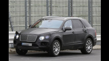 Bentley-SUV auf Testfahrt erwischt