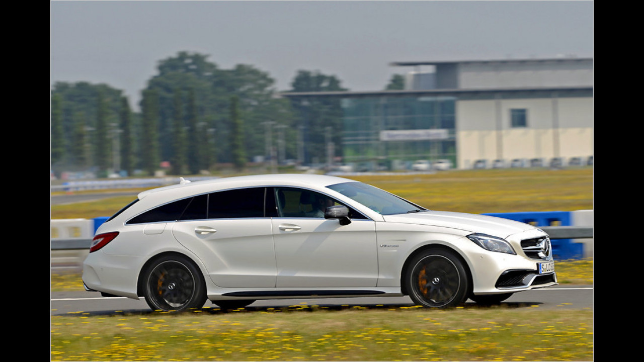 Mercedes-AMG CLS 63 S Shooting Brake 4Matic