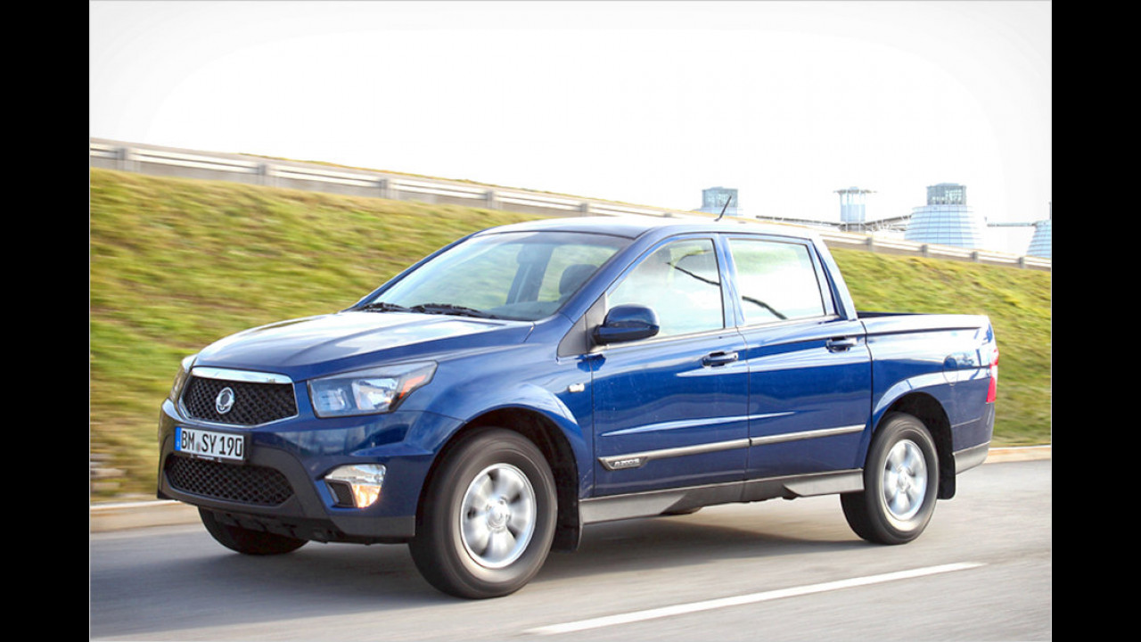 SsangYong Actyon Sports 2.0 Diesel 2WD