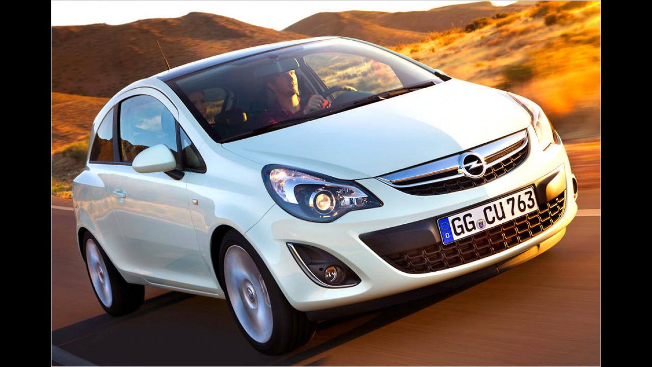 Opel Corsa: 18 Millionen (seit 1982)