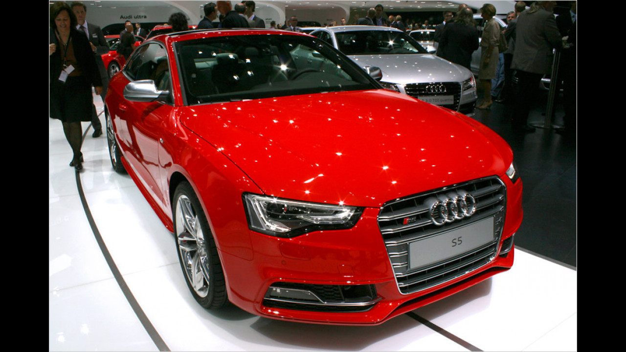 Audi S5 Coupé Facelift