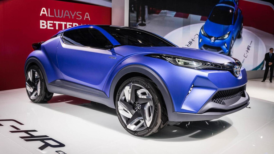 C-HR Concept and FCS preview the future of Toyota in Paris