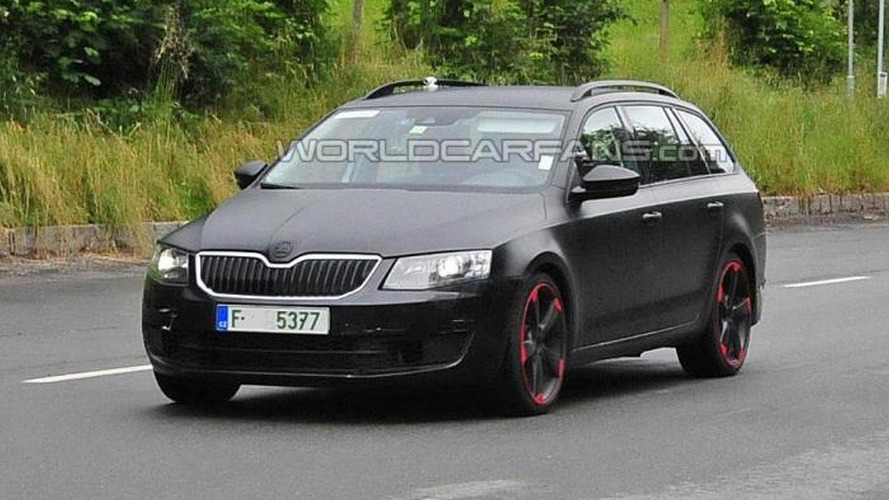 Hotter Skoda Octavia RS spied, could be the rumored 280 PS variant