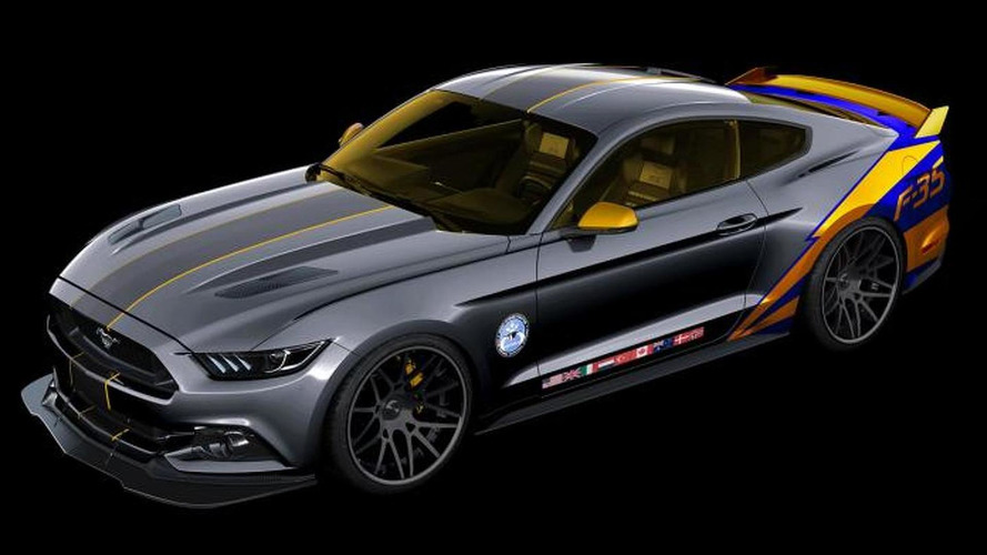 Ford Mustang featuring F-35 theme to be showcased at EAA AirVenture