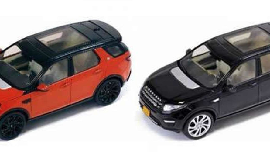 Production Land Rover Discovery Sport leaked through scale model
