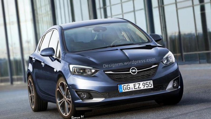 2016 Opel Astra render shows upscale styling
