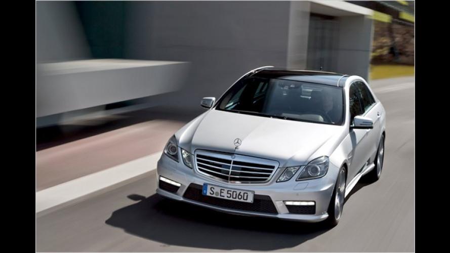 Jetzt mit Biturbo: Mercedes E 63 AMG