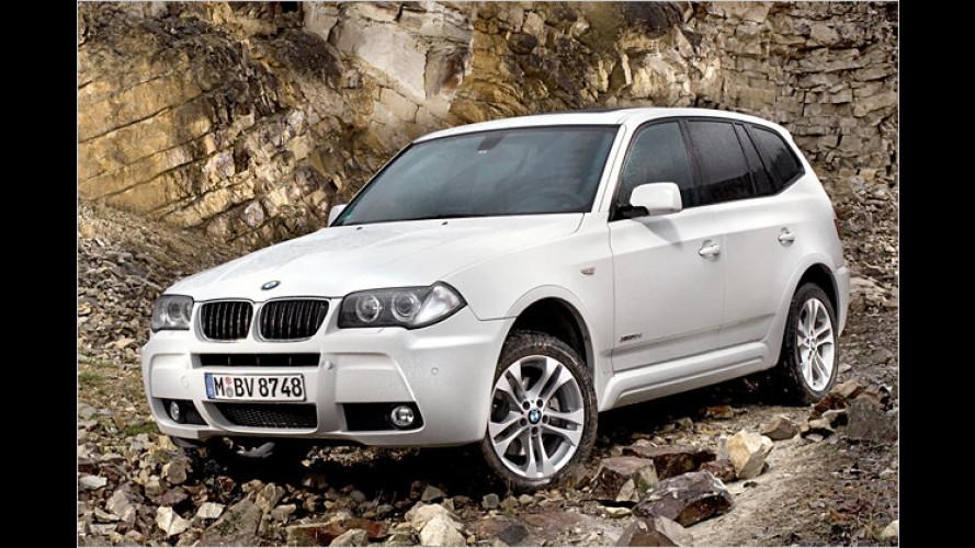 Neuer Spar-Diesel: Einstiegs-Diesel BMW X3 xDrive18d