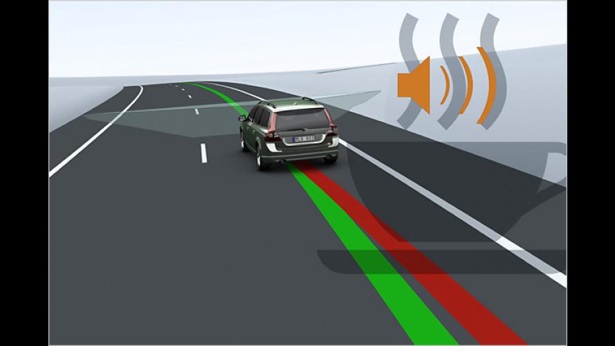 Neue Volvo-Sicherheitssysteme zur Unfallprävention
