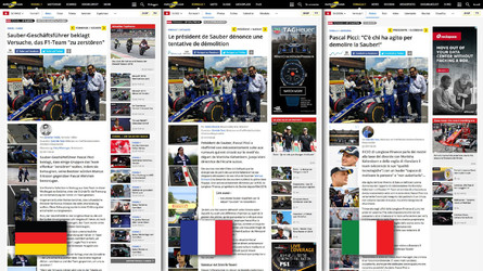 Motorsport.com Launches New Innovative Tri-Language Swiss Edition