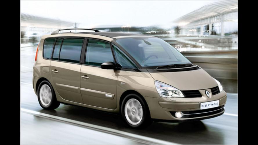 Renault Espace dCi FAP 175: Erster Diesel-Van mit Euro 5