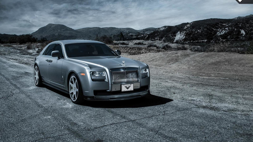 Vorsteiner introduces a new styling program for the Rolls-Royce Ghost