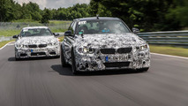 2014 BMW M3 Sedan and M4 Coupe presentation during Technology Days 25.09.2013