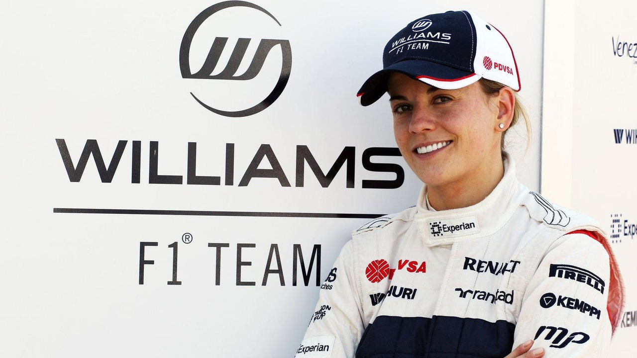 Susie Wolff Williams Development Driver 19.07.2013 Formula One Young Drivers Test, Day 3, Silverstone, England