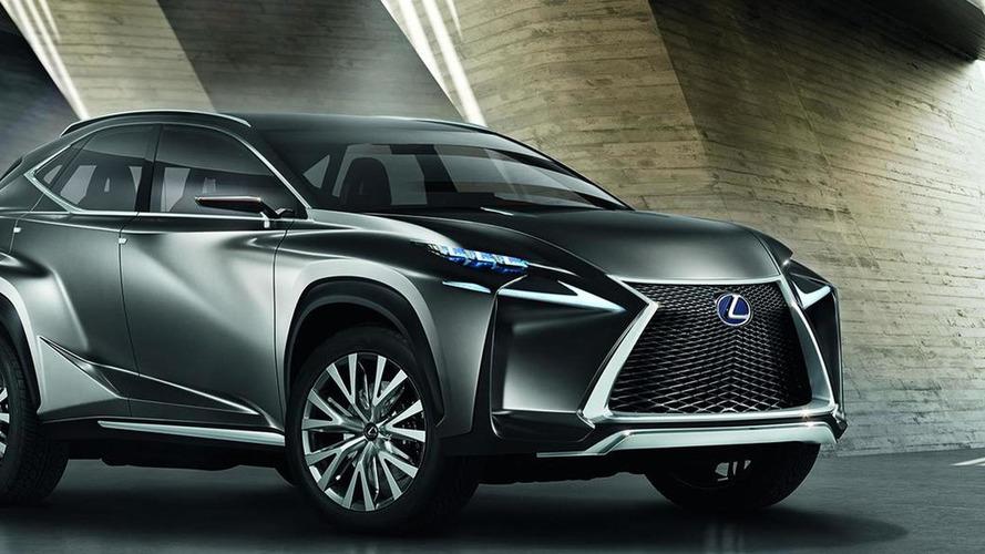 Lexus NF-NX concept breaks cover