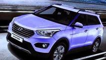 2014 Hyundai ix25 leaked photo (not confirmed)
