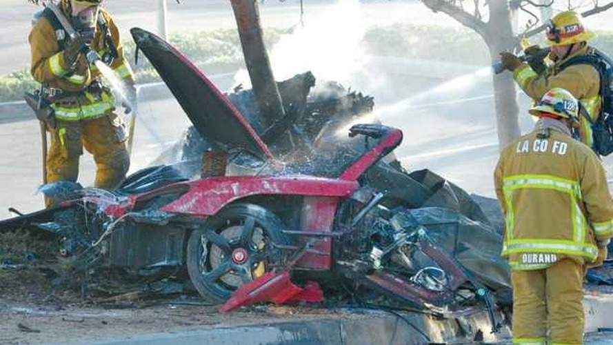 Paul Walker's accident investigators say Porsche Carrera GT was doing 93 mph