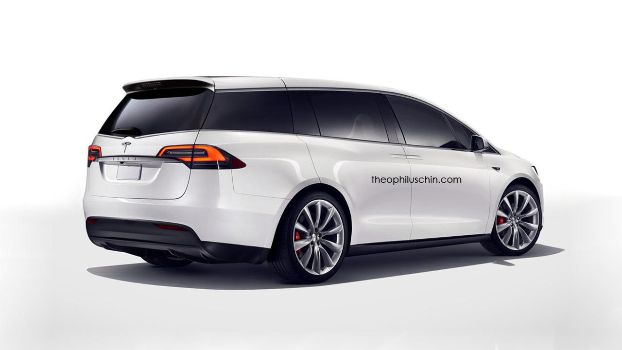 Tesla minivan co...New Vw Atlas
