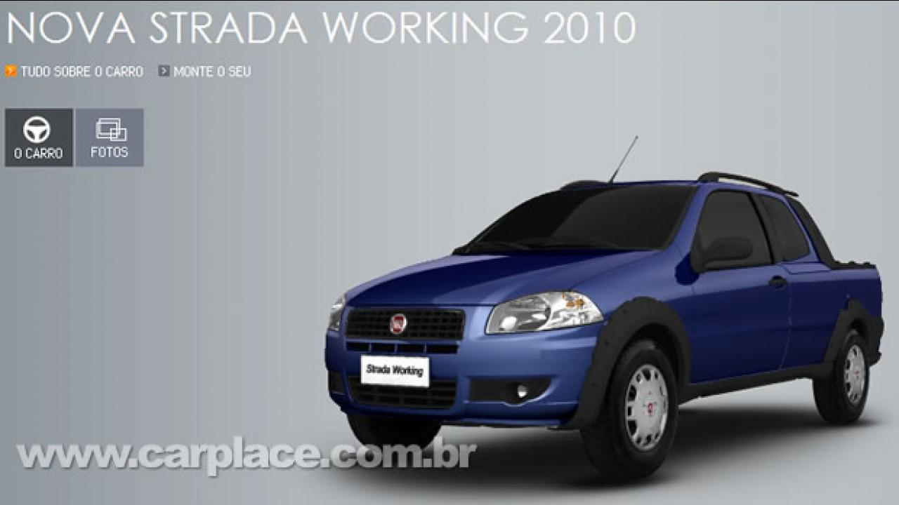 Nova versão: Fiat Strada Working já é oferecida no site da marca com preço inicial de R$ 30.980