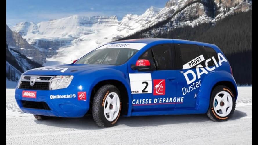 Alain Prost revela o novo utilitário Dacia Duster