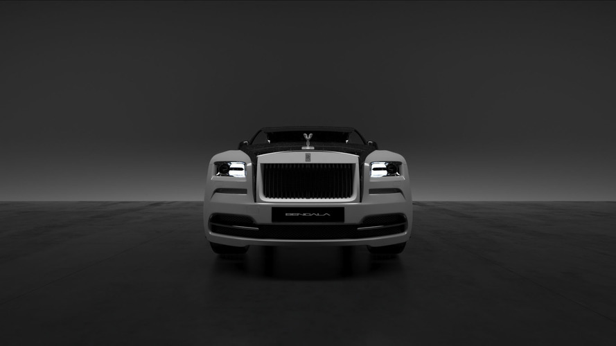 Rolls-Royce Forged Carbon Fiber parts