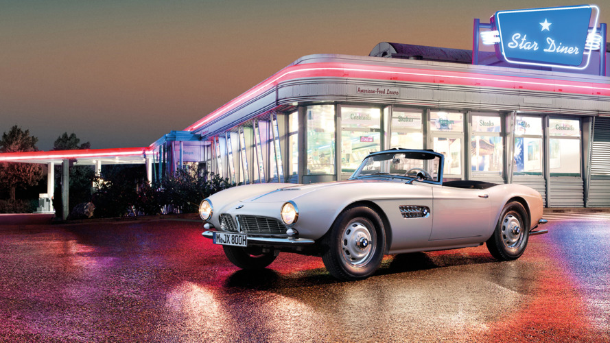 Elvis'in BMW 507'si Pebble Beach için tamamen restore edildi