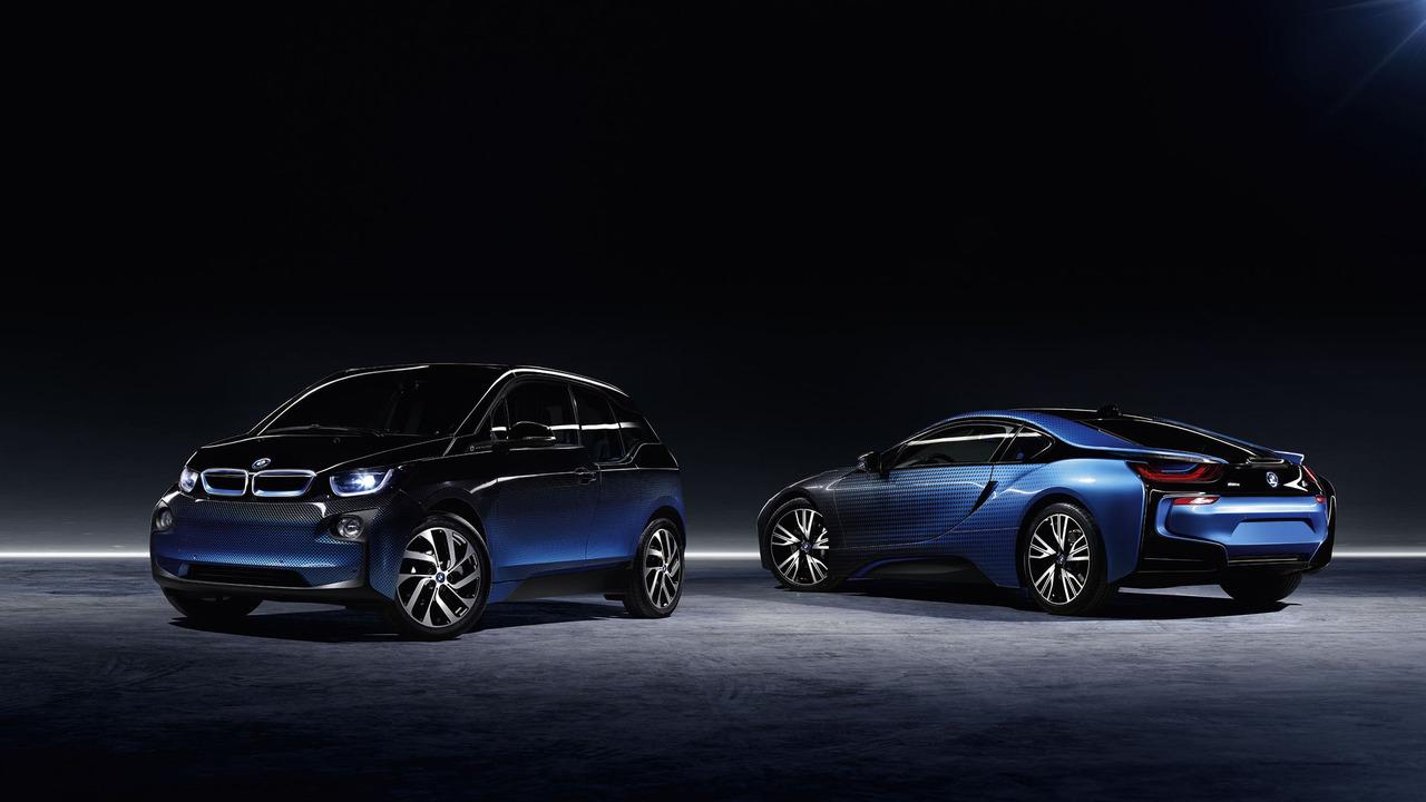 BMW I8 and I3 Crossfade