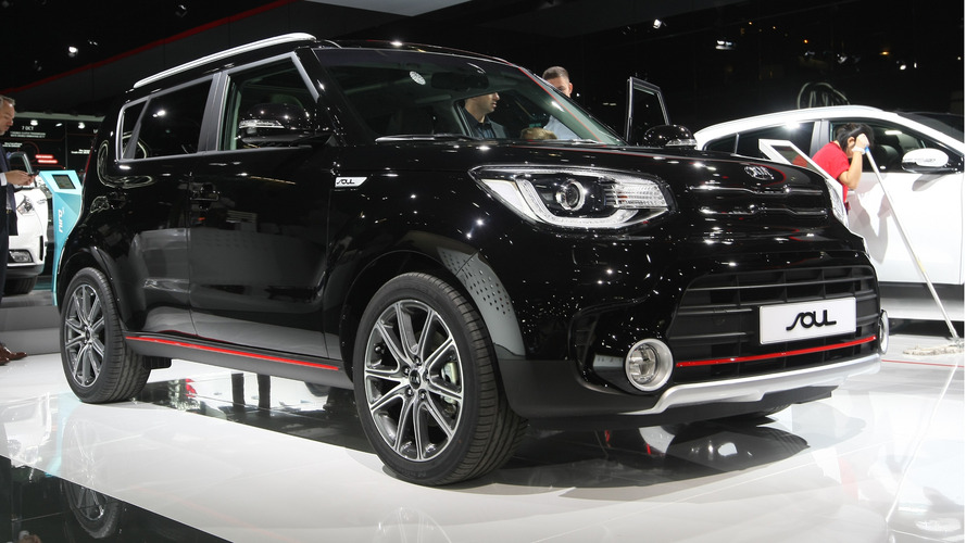 Facelifted Kia Soul SX bows in Paris with 201 hp turbo motor