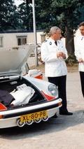 1989 Porsche 911 Targa Hollanda polis aracı