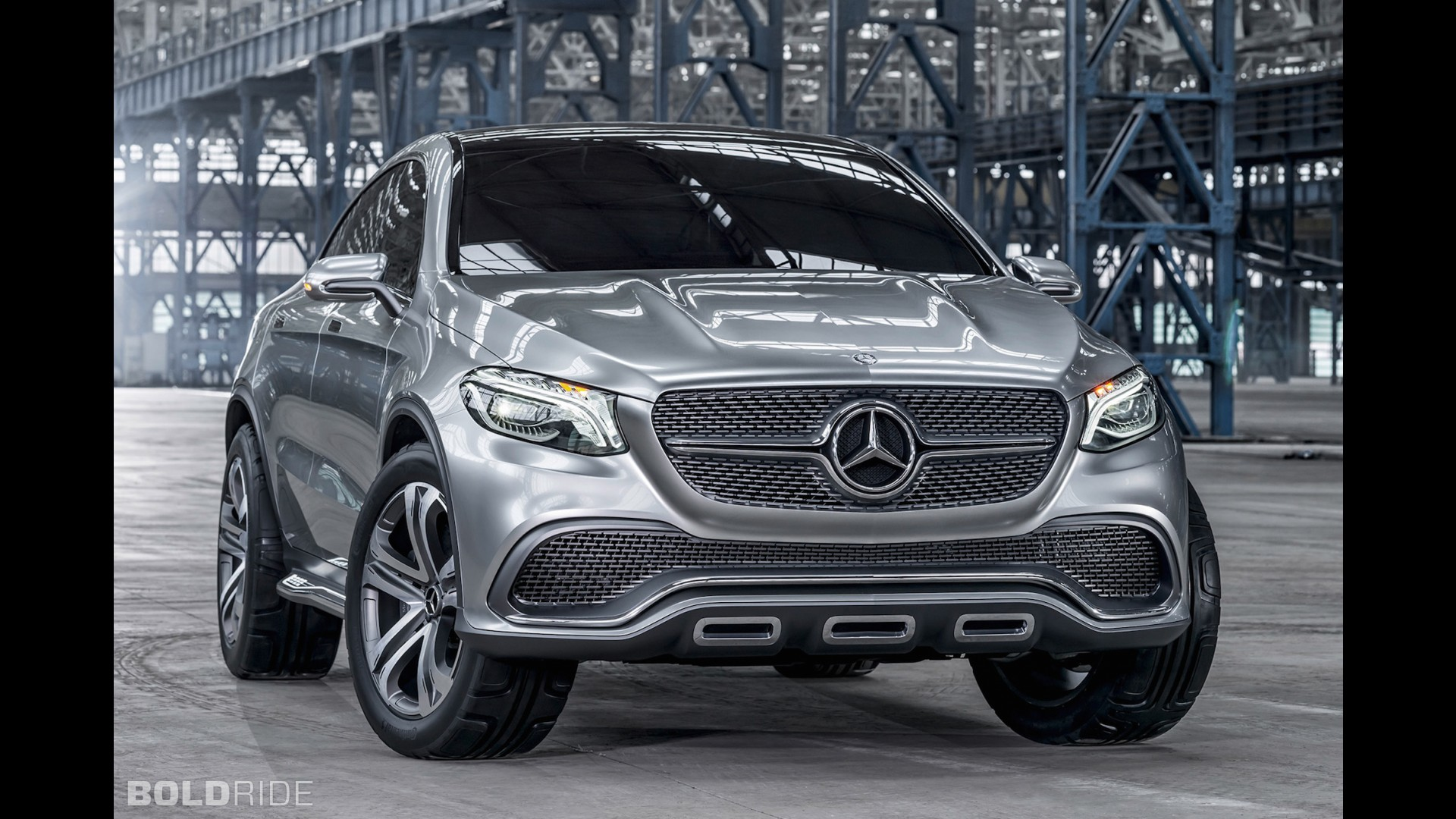 Mercedes benz concept coupe suv for Mercedes benz official site usa