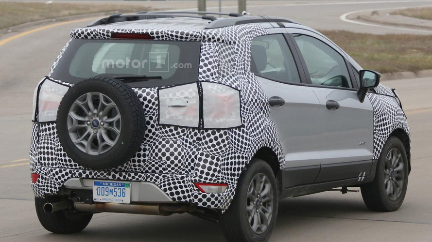Ford EcoSport facelift spied in the U.S.