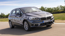 BMW 2-Series Active Tourer plug-in hybrid prototype
