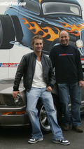 Mathias Lauda's Ford mustang GT