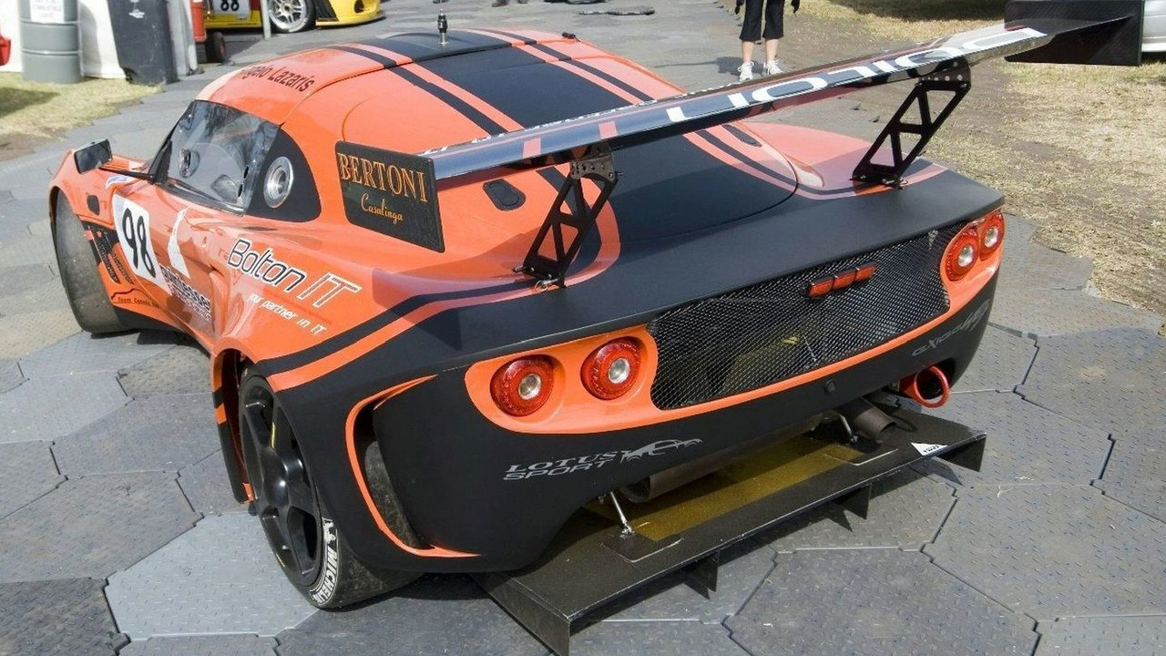 Lotus Exige GT3 of Angelo Lazaris