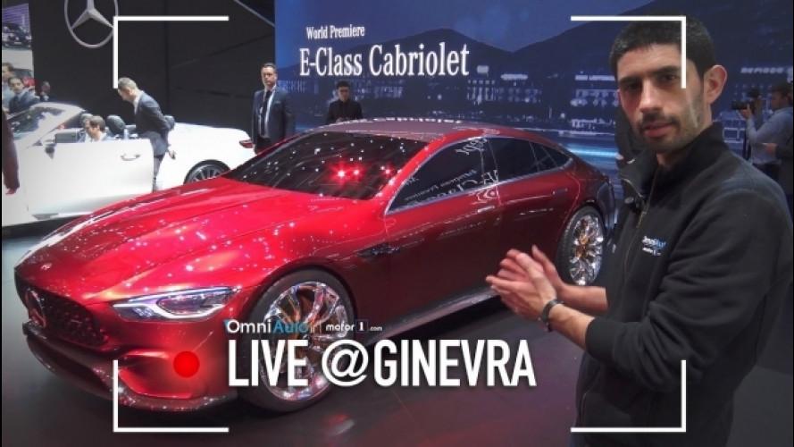 Salone di Ginevra, la AMG GT Concept