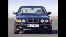 BMW Serie 7, le foto storiche