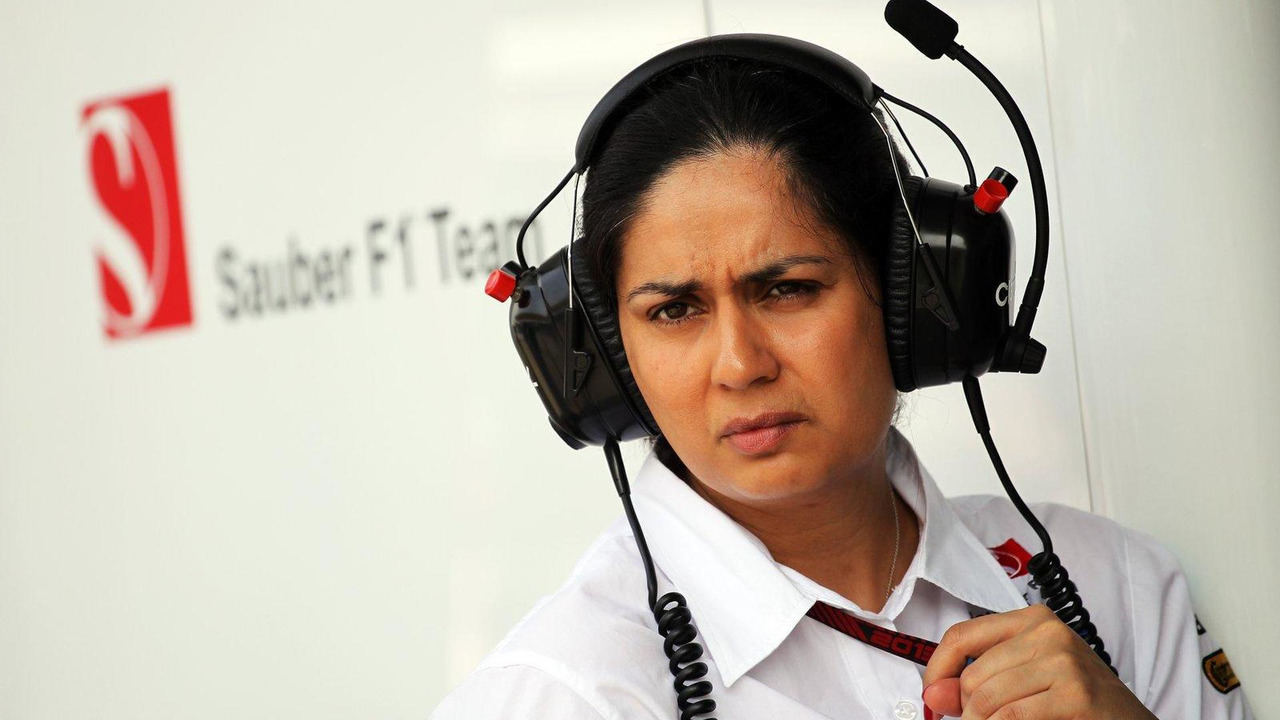 Monisha Kaltenborn 22.03.2013 Malaysian Grand Prix