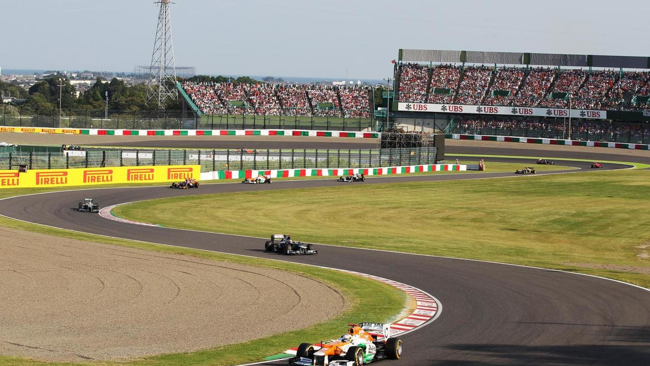 2012 Japanese Grand Prix, Suzuka