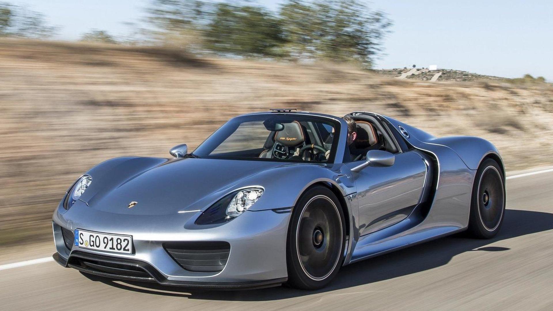 2013-435420-2014-porsche-918-spyder1 Amazing Porsche 918 Spyder sold Out Cars Trend