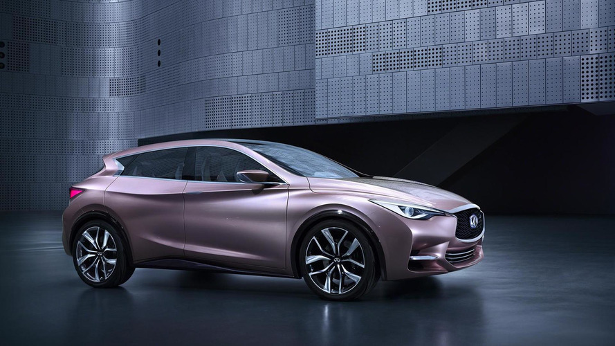 Infiniti Q30 concept first image revealed