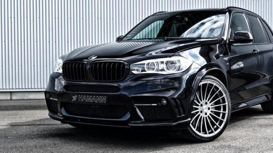 Third-gen BMW X5 fully modified by Hamann