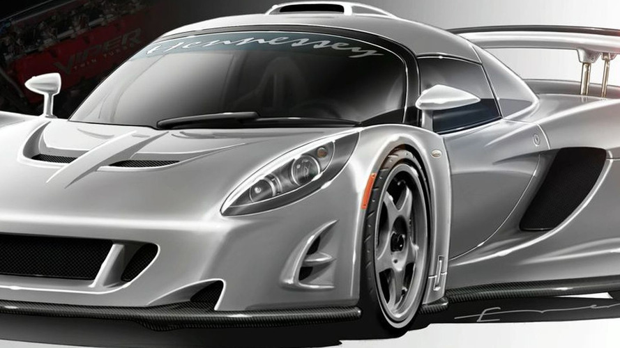 Hennessey VENOM GT Concept Car Headed for Geneva with 1200bhp