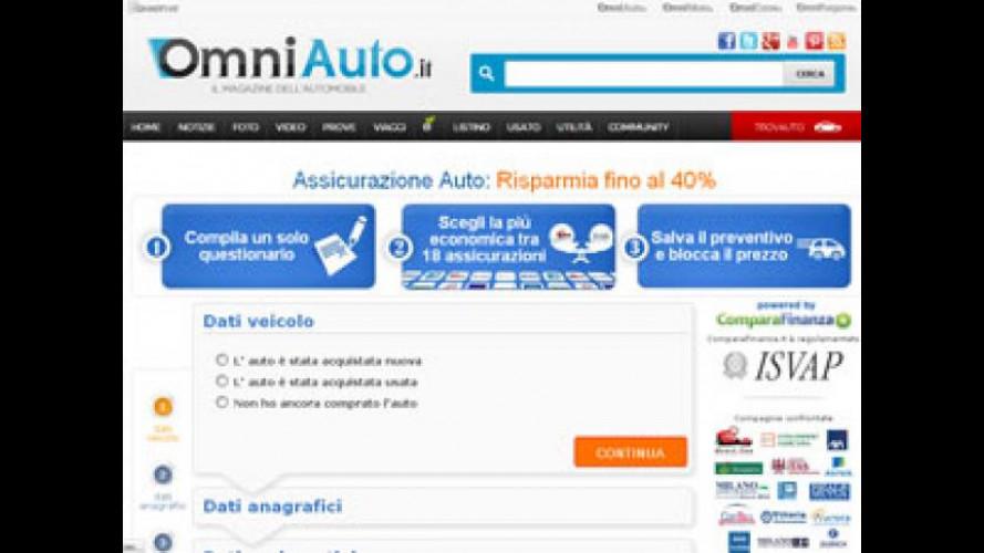 Nasce il comparatore di Assicurazioni by OmniAuto.it