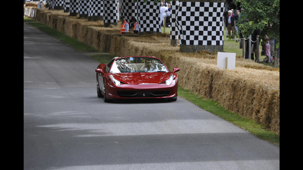 Ferrari e Maserati al Goodwood Festival of Speed 2014