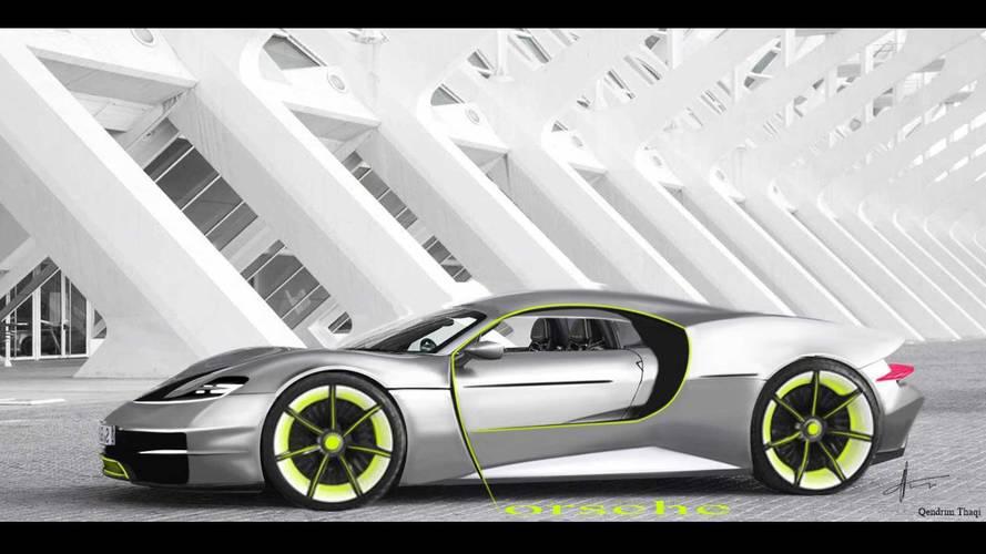 Bu fan tasarımı Porsche 918 için uygun bir selef olabilir mi?